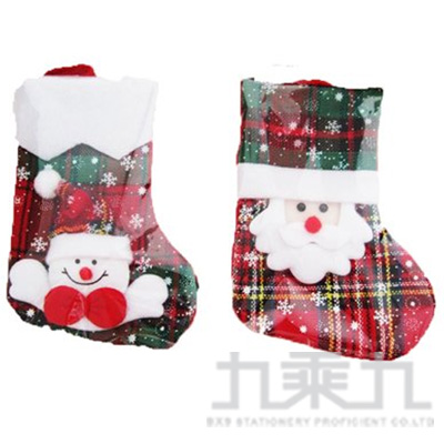 聖誕襪吊飾10*18CM 513390