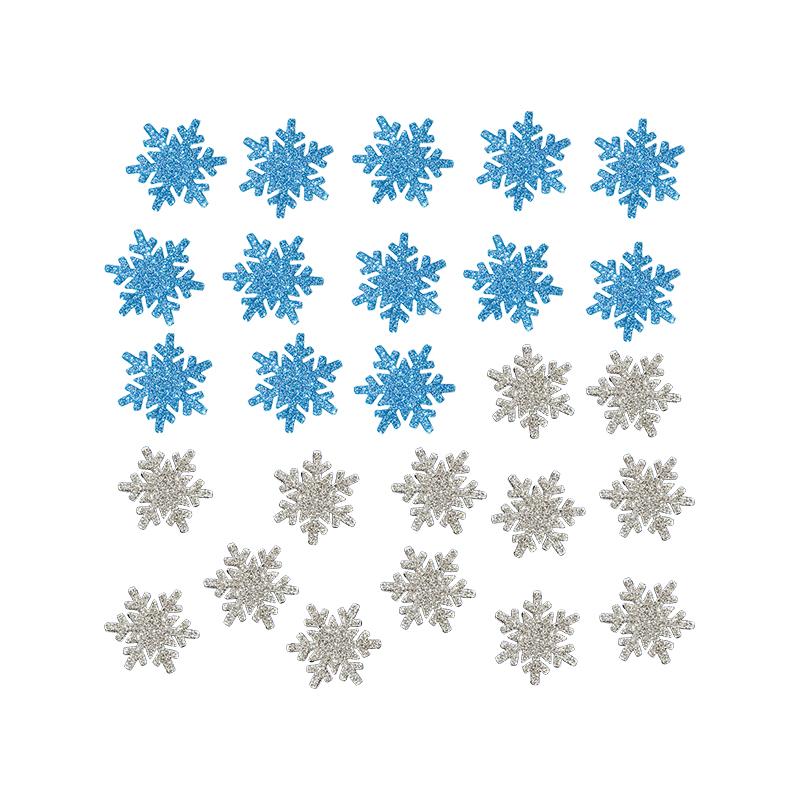 26入4.5公分雪花片佈置貼 GTX-1777