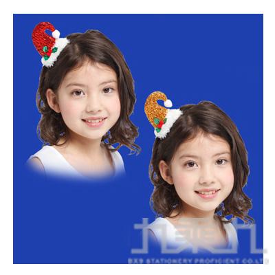 亮彩聖誕帽髮夾 GTX-5345