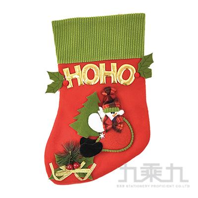 聖誕襪-HOHO雪人 SL7513