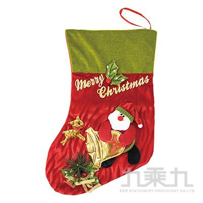聖誕襪-老人鈴鐺 SL7514