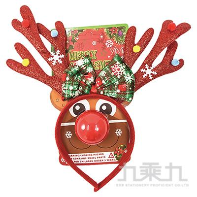 (E)麋鹿造型髮箍-彩色亮片 SL7521