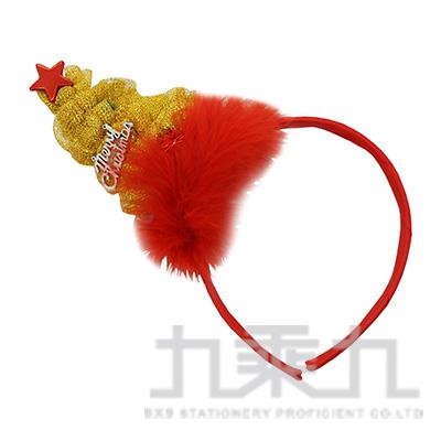 羽毛聖誕樹髮箍 MX3002-15