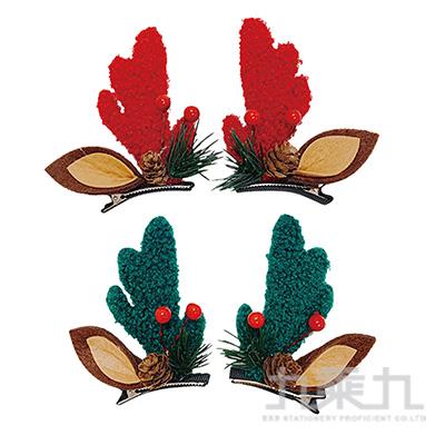 森林鹿角耳朵髮夾