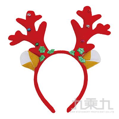 聖誕麋鹿髮箍