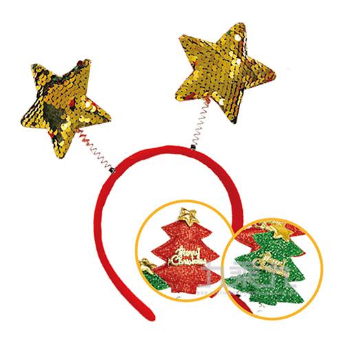 Q彈聖誕樹髮箍 MX3001-07