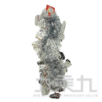 聖誕字金蔥條-銀 45082 (隨機出貨)