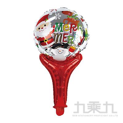 耶誕佈置-手拿鋁箔耶誕派對氣球 XS-30002