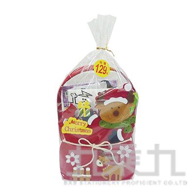 聖誕大鹿文具組6X1414