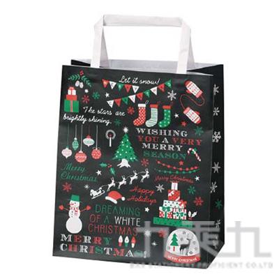 (日)聖誕快樂手提紙袋小(3入) C-2532