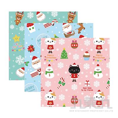 聖誕包裝紙E-F