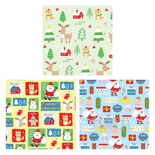耶誕包裝紙K(款式隨機出貨)