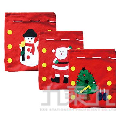 貼花中聖誕袋 45*55CM 507820