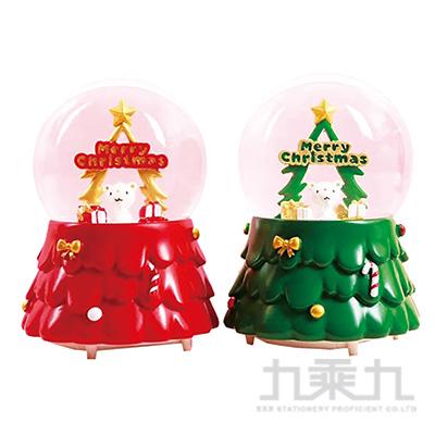 聖誕100MM水球小熊 DE191078