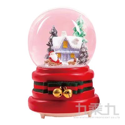 聖誕100MM水球房子 DE191081