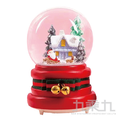 聖誕80MM水球房子 DE191082