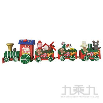 (E)繽紛聖誕小火車擺飾 SL7632