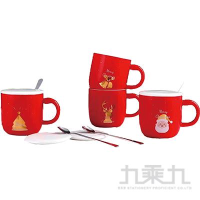 聖誕燙金馬克杯
