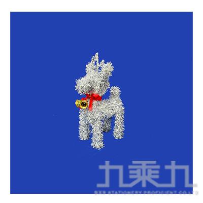 """8""""聖誕麋鹿加鐘(銀白) GTX-2621ASW"""