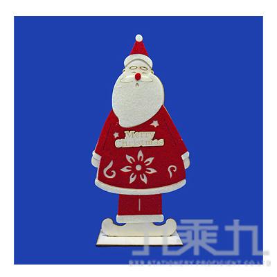 12木製聖誕老公公擺飾 GTX-5439