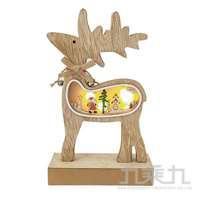 麋鹿造型木片擺飾 SL7541