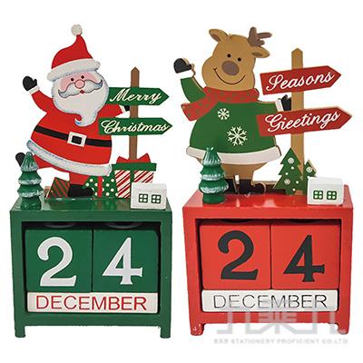 聖誕造型日曆擺飾 SL7630(款式隨機出貨)