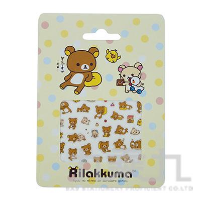 拉拉熊指甲貼-車車版 RK04714B