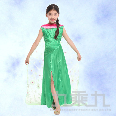 翠綠艾莎公主服(M) GTH-1732