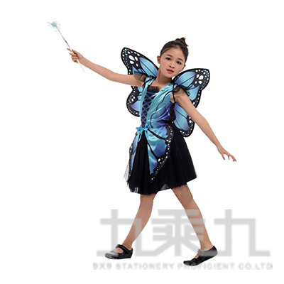 藍黑蝴蝶仙子(S.M.L.XL) GTH-1831