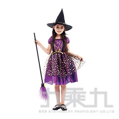 紫金優雅小女巫(S.M.L.XL) GTH-1844