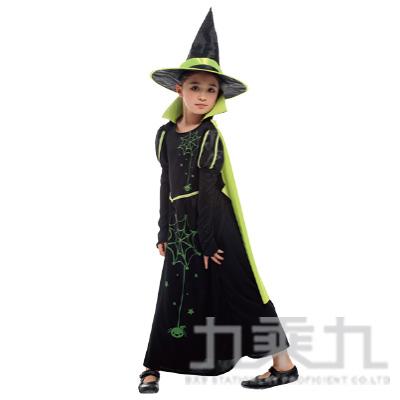 綠黑蜘蛛巫婆裝(M/L/XL) GTH-2083
