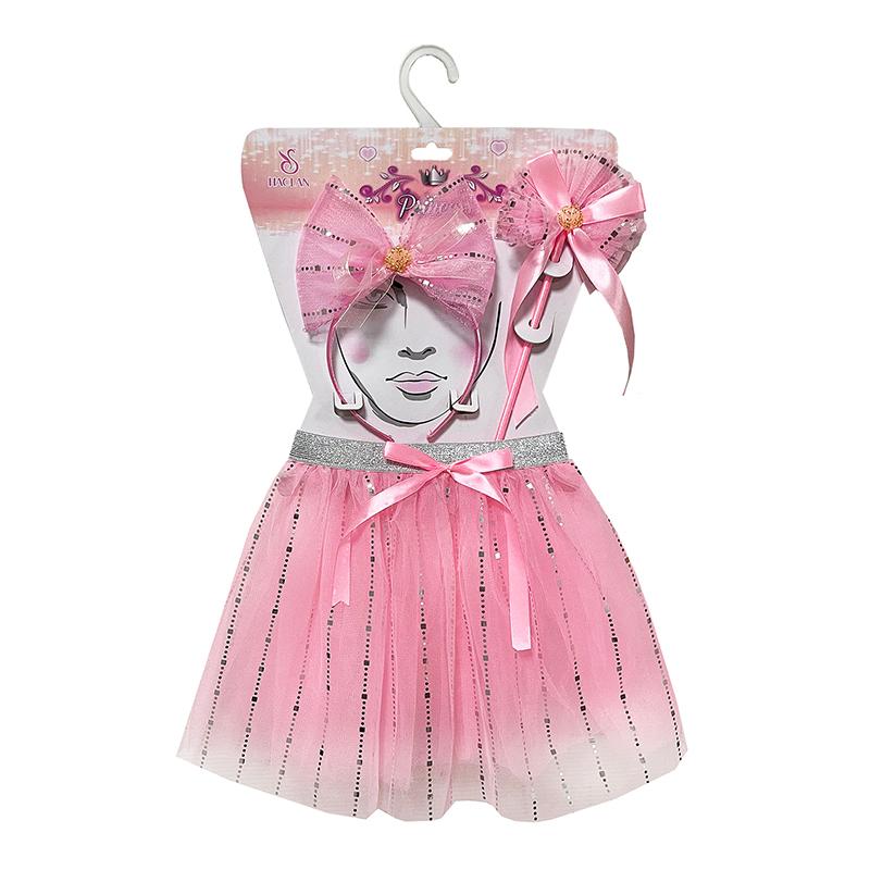 粉色蝴蝶仙子三件套 40939