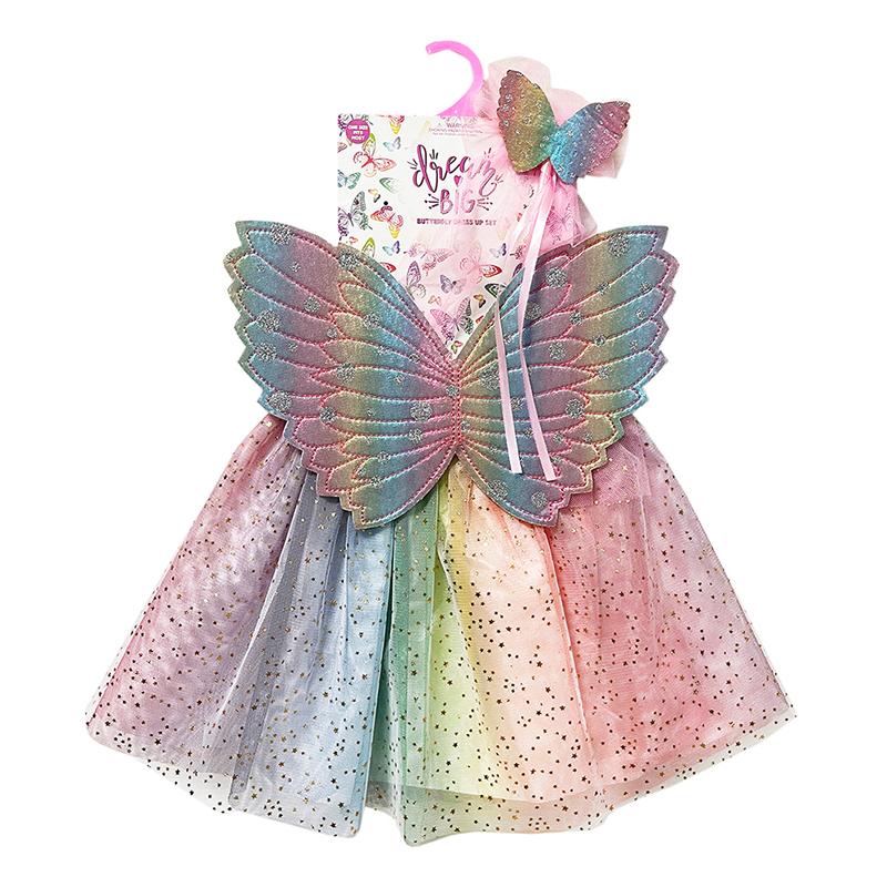 彩虹蝴蝶翅膀三件套 41767
