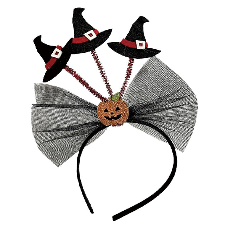 蝴蝶結巫婆帽頭戴飾 41843
