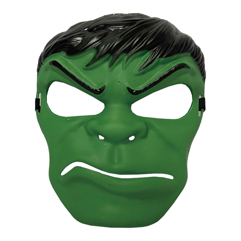 塑膠造型面具-小綠人 43035