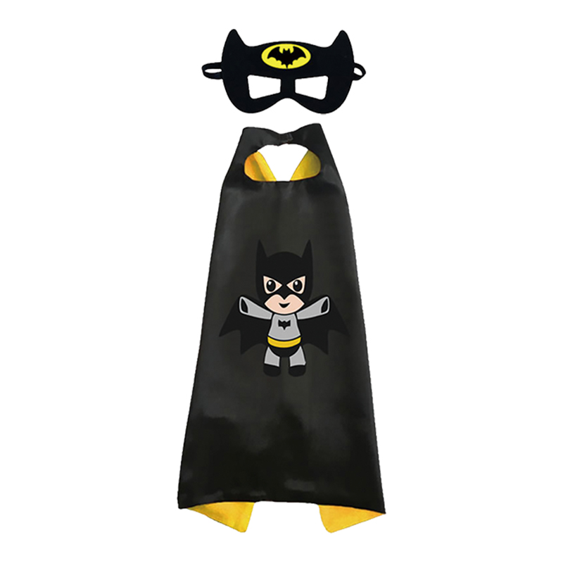 Q版蝙蝠遊俠披風套組 43864