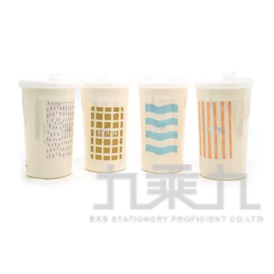 WATER-環保密封吸管杯350ml V350-1