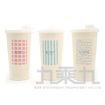 WATER-環保密封吸管杯500ml V550-1