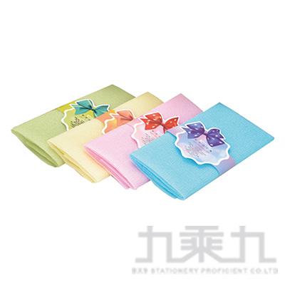 SK447 花蝴蝶-純色去角質沐浴巾