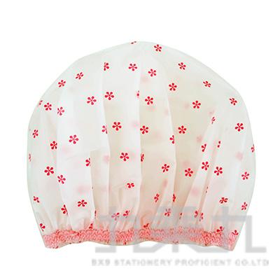SK3383-1 i SPA - 無痕蕾絲浴帽-小花(防潑水處理)