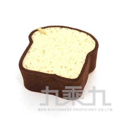SK3801 烘焙幸福生活-咖啡吐司 沐浴海綿
