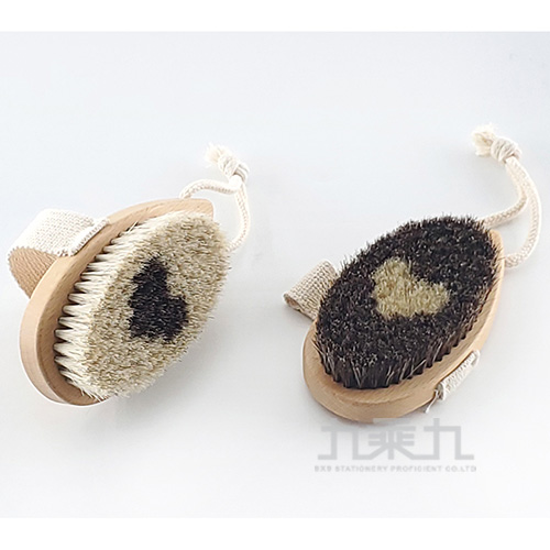 山毛櫸X馬毛-手感去角質沐浴刷 SK5506(顏色隨機出貨)