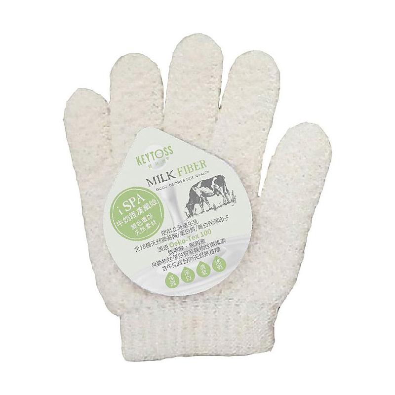 Milk Fiber--淨 沐浴手套 RE6702