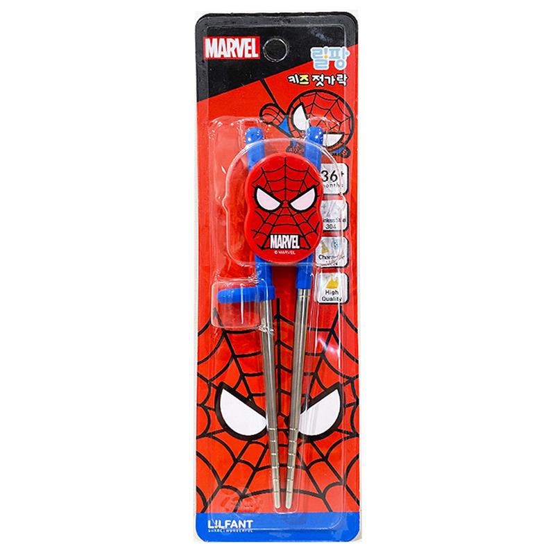 蜘蛛人不鏽鋼學習筷 04511