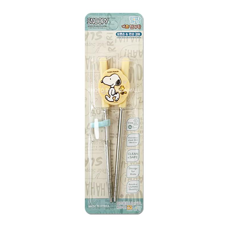 史努比不鏽鋼學習筷