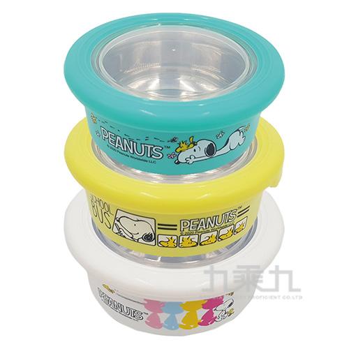 SNOOPY史努比不鏽鋼防滑碗(中)-420ml 746386(款式隨機出貨)