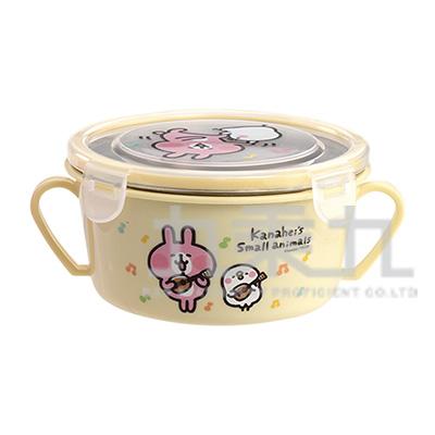 卡娜赫拉雙耳隔熱餐碗唱歌黃版 KS52051A