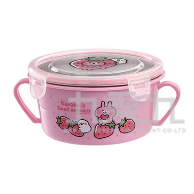 卡娜赫拉雙耳隔熱餐碗草莓粉版 KS52051B