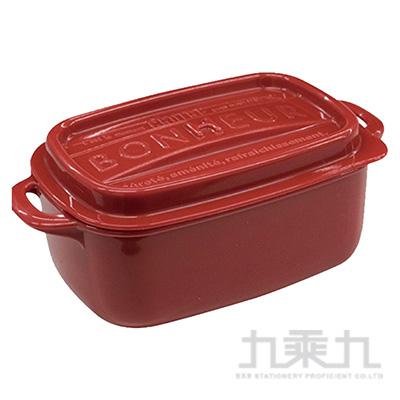 BONHEUR 長方收納盒LL紅 NO.1596