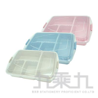 小麥四格餐盒 SG-180 (顏色隨機)